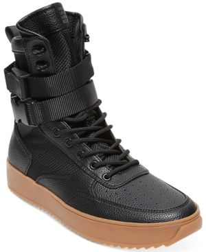 dbb4c047c96 Steve Madden Men's Zeroday High-Top Sneakers - Black 11.5 | Products ...