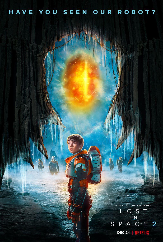 Lost In Space S02 Poster Netflix Serien Serie Lost Serien