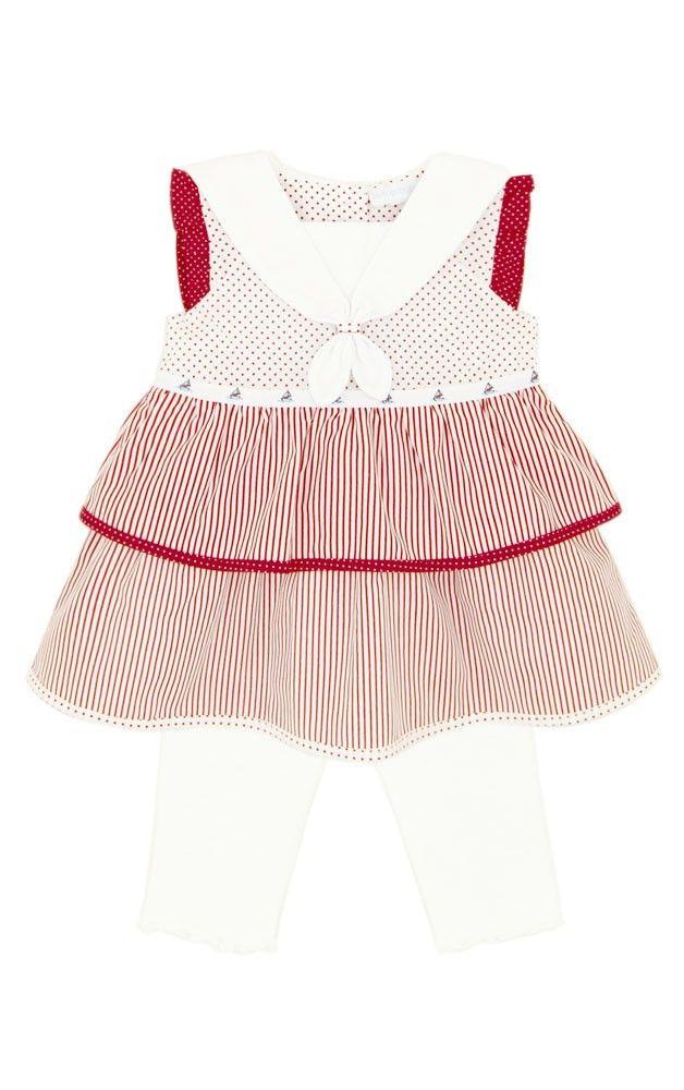 Le Top // Striped Sailor Dress