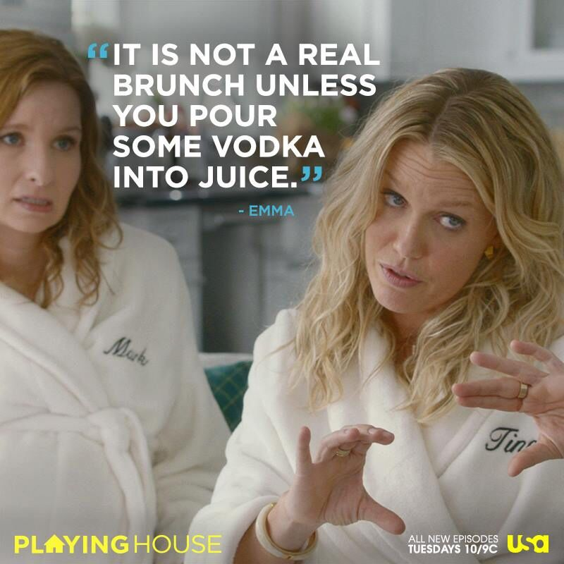 Truth From The 2nd Episode Of Usa S New Comedy Playing House Tuesdays At 10 New Comedies Music Tv You Really Got Me