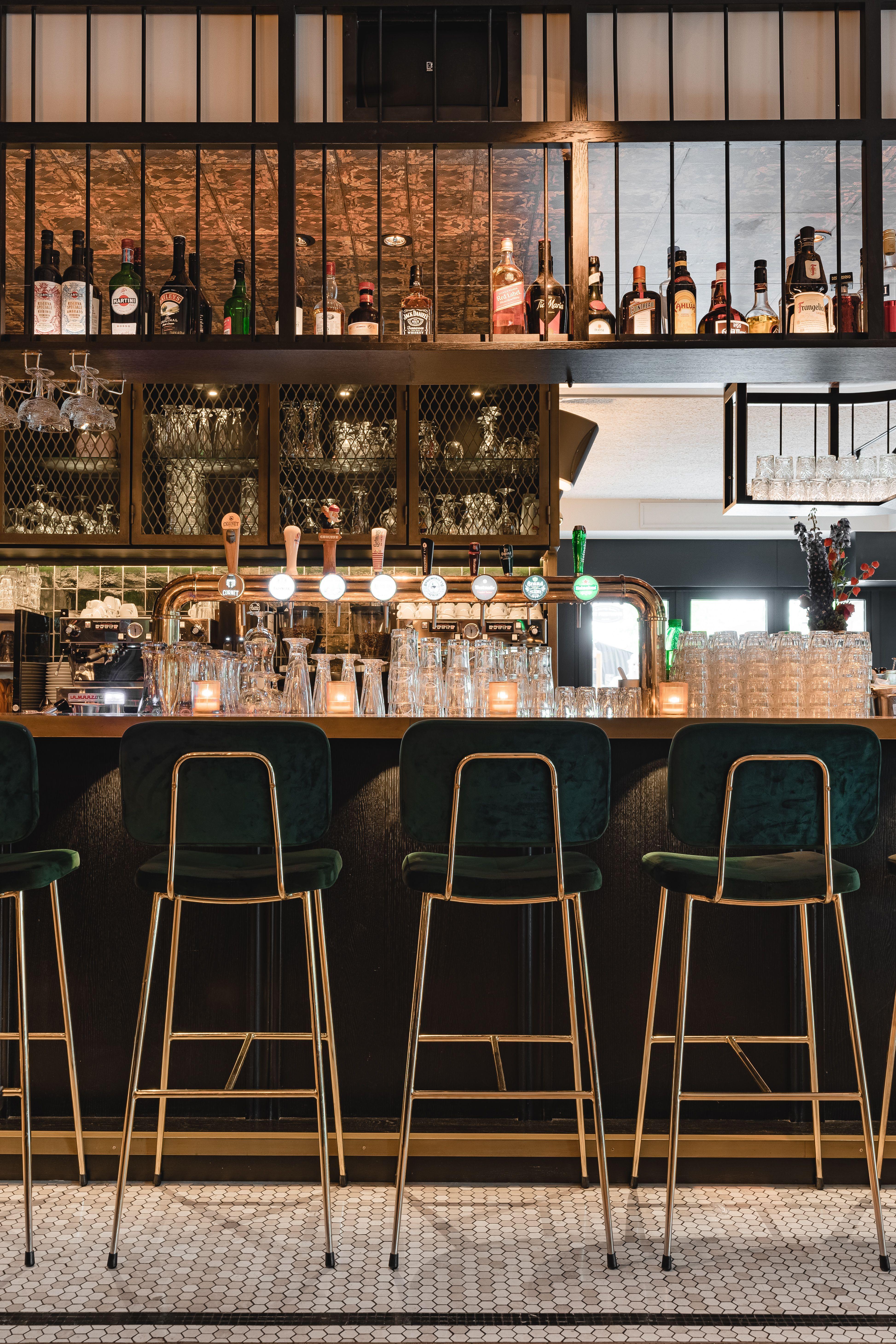 La Colline Bar Design Restaurant Hospitality Design Bar Counter Design