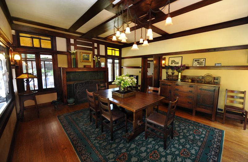 Arts & Craftsman Chandelier Design Cir 1900Scottsdale Art Pleasing Craftsman Dining Room Lighting Inspiration
