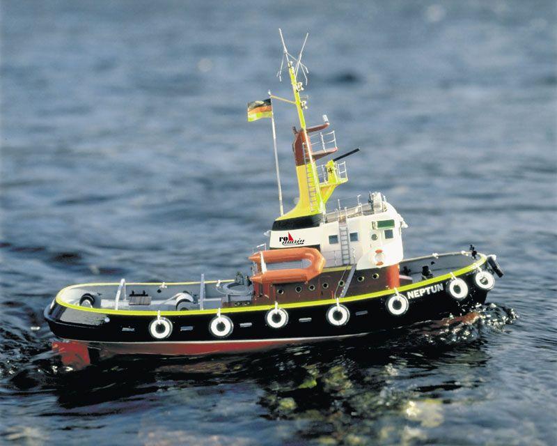 Neptun Tug Boat including Fittings Kit 1:50 Scale Krick ...