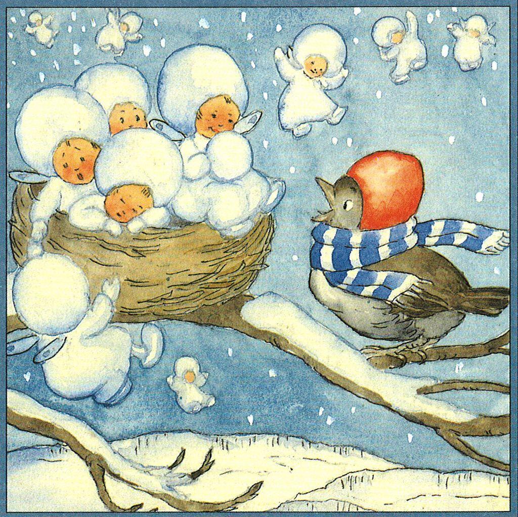 Weihnachten Wikipedia.Weihnachten Mit Ida Bohatta Bild 03 Illustrations I Like