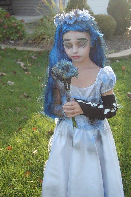 disfraces de halloween para nios novia cadver