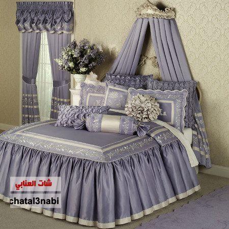 مفارش سرير سورية اجود انواع المفروشات مفروشات غرف نوم مفارش سرير النوم طقم مفارش Img 1364754481 518 Jpg Bed Decor Luxury Bedspreads Chic Bedroom