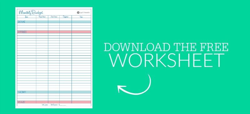 Blank Monthly Budget Worksheet Monthly budget, Saving money and - Download Budget Spreadsheet