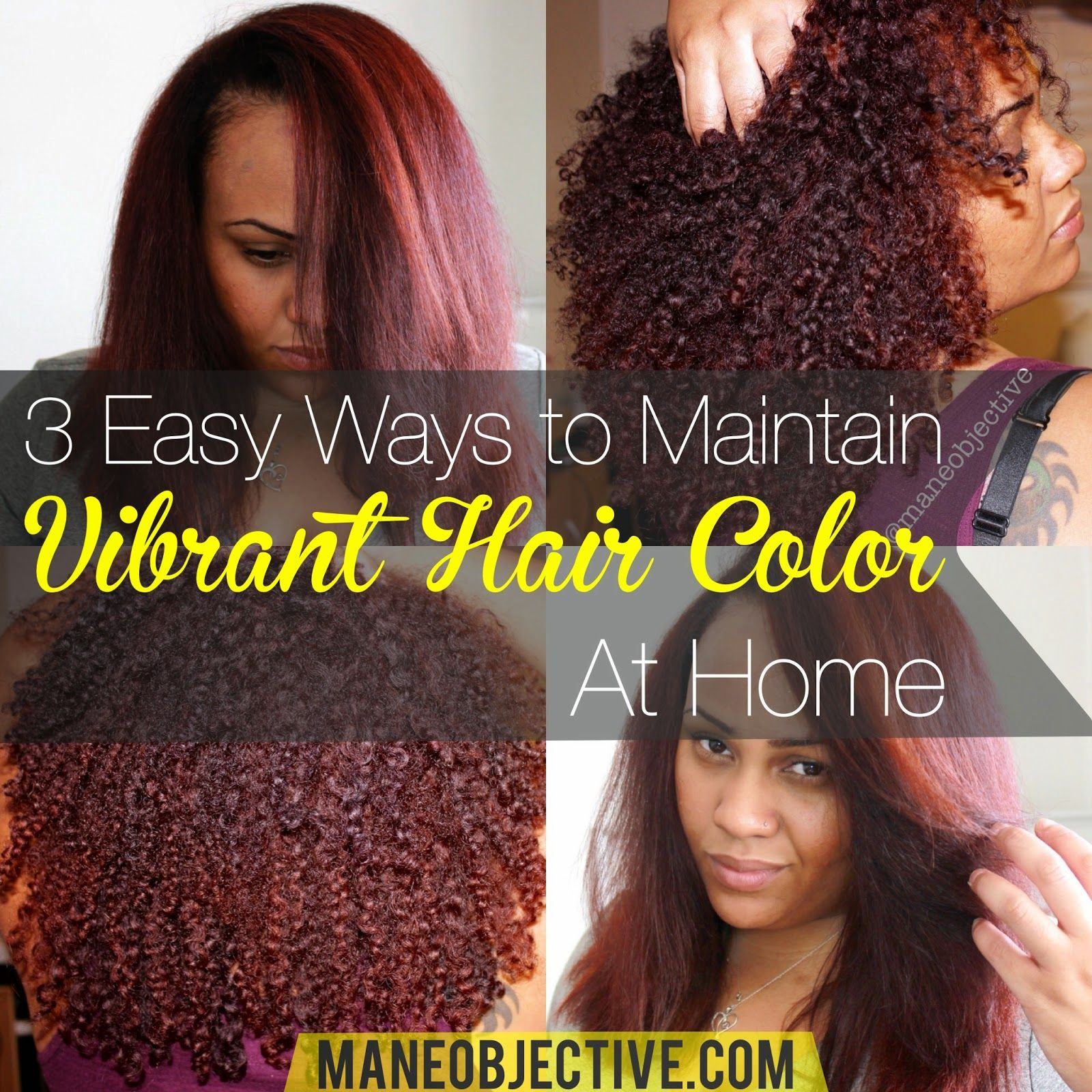 3 Safe Alternatives To Maintaining Your Hair Color Dont Risk Dye