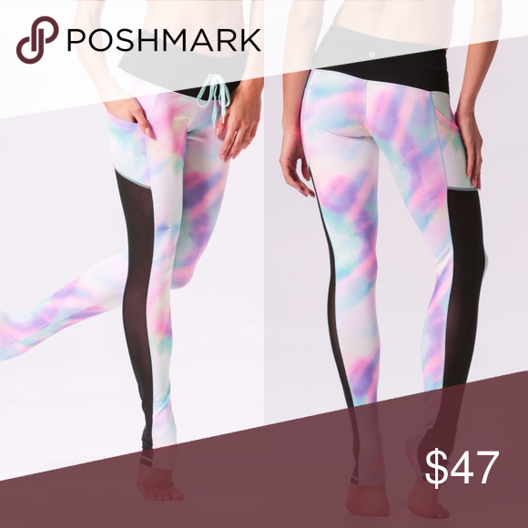 4f9e6fcf5a22c5 Popflex Active Draw The Line Mermaid Legging Gorgeous mermaid inspired  leggings by Cassey Ho aka blogilates on YouTube. Worn a handful of times  and in ...