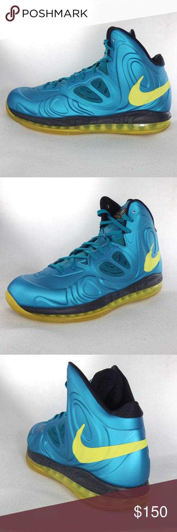 5c63506f12b NIKE Air Max Hyperposite Tropical Teal Sonic Shoes Super clean Hyperposite  Nike with a bright finished