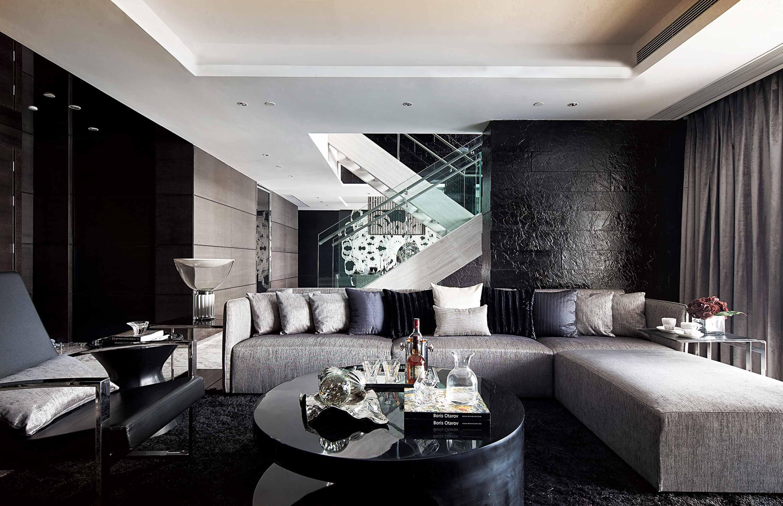 Black Rug  A Fur Rug For This Living Room Designit Gives A Prepossessing Dining And Living Room Sets Inspiration Design