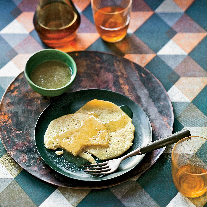 Semolina Pancakes   Receta