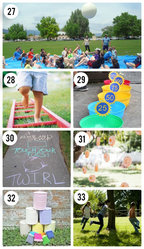 Fun Outdoor Games For The Entire Family Summer With The