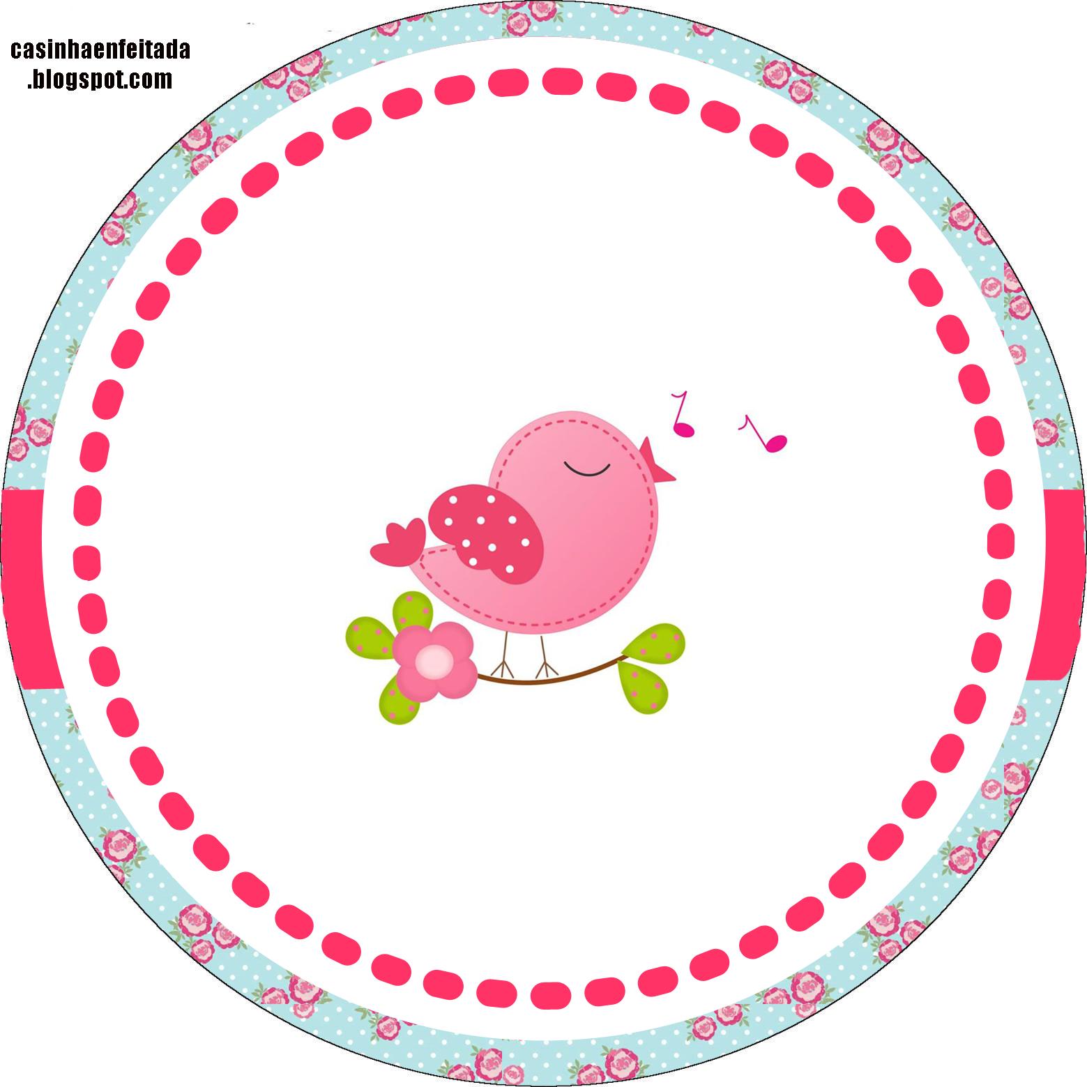 Armario Oriental Barato ~ Kit Festa Passarinhos Para Imprimir Grátis Festa passarinho, Casa de crianças e Kit festa