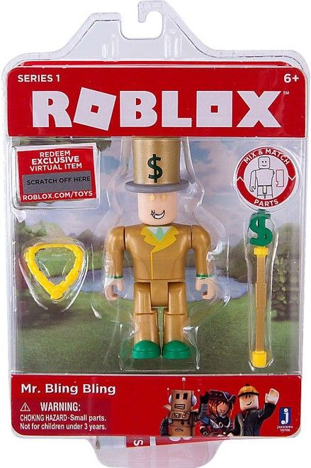 Roblox Mr  Bling Bling Action Figure | i no money | Roblox codes