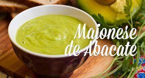 Aprenda a fazer uma maionese super diferente e com um ingrediente inusitado, o abacate. Esta maionese é bem levinha, não leva tanto óleo como muitas outras, e é perfeita para acompanhar pães, torradas, saladas e lanches.