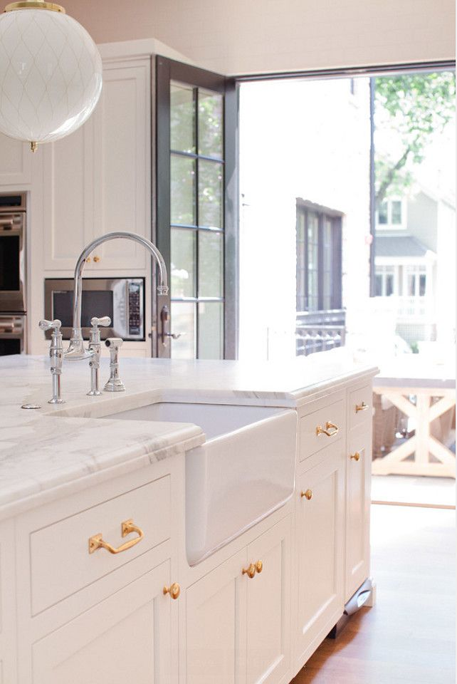 Brass Kitchen Hardware Pictures Of Backsplashes Interior Design Ideas My Dream Home