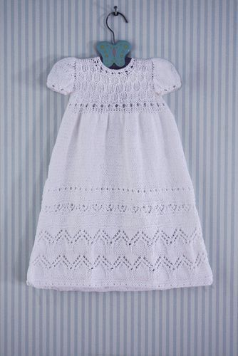 knitted baptism gown pattern - Bing Images | Crochet baby ...