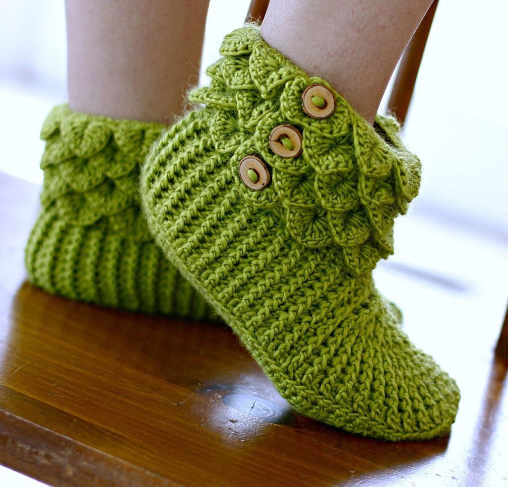 Crocodile Stitch Boots Crochet Kit | Pinterest