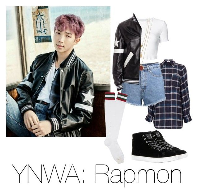 Image result for rapmon ynwa outfit