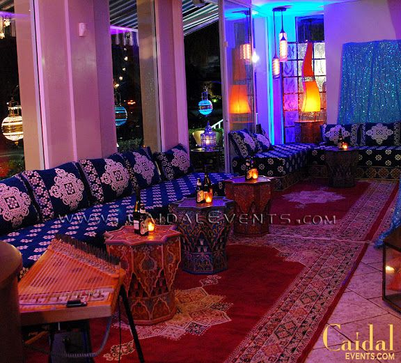 Naples Florida Traditional Interior Design: Moroccan Themed Dinner At Bamboo Cafe In Naples Florida