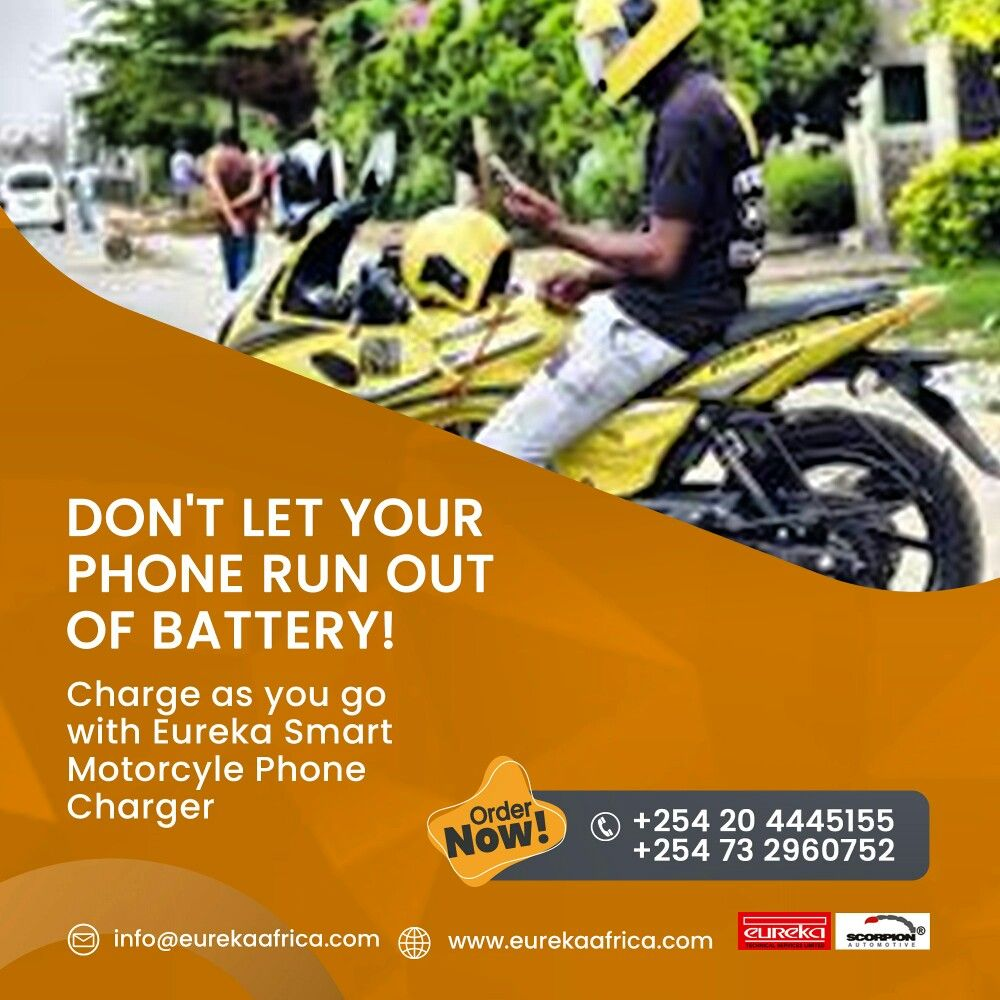 motorbikelife in 2020 Eureka, Safety tips, Phone charger