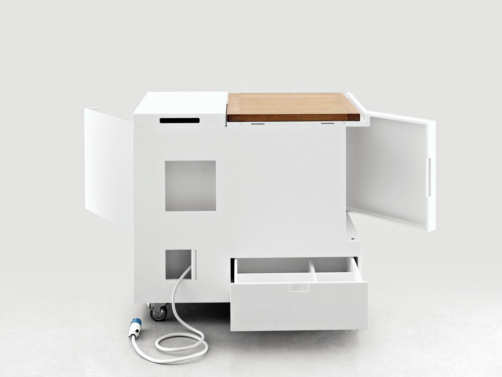 Miniküche design  Mini-Küche aus Corian® MINIKITCHEN by Boffi   Möbel   Pinterest ...