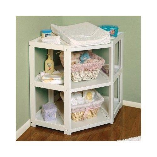 Nursery Diaper Corner Changing Table Newborn Ny Station Ideas Baby Room Cornerchangingtable