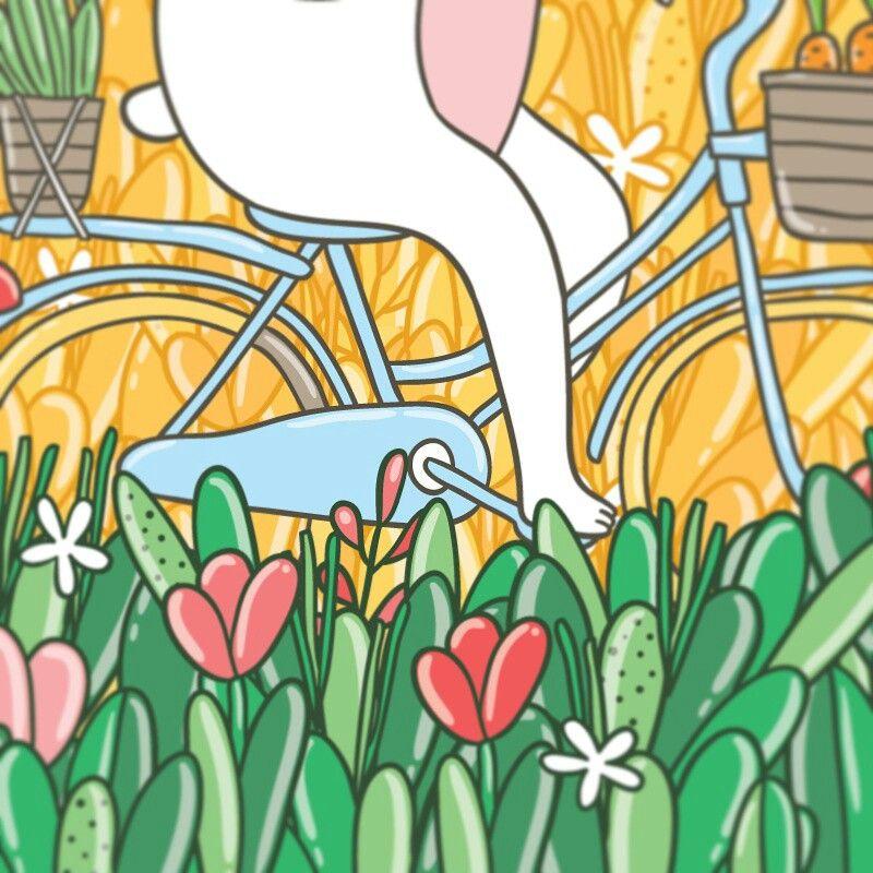 Кусочек работы #haveaniceday #bunny #florals  #flowermeadow #flowers  #greeting #vector #vectordrawing #vectorart #illustrationart #illustrator #illustrationoftheday #illustrationgram #vectorgraphics #artwork #иллюстратор #иллюстрация #art_we_inspire #vectorillustration #blossom #bicycle #artwork #illustration #illustrator #drawing #kostolom3000 #annaalekseeva