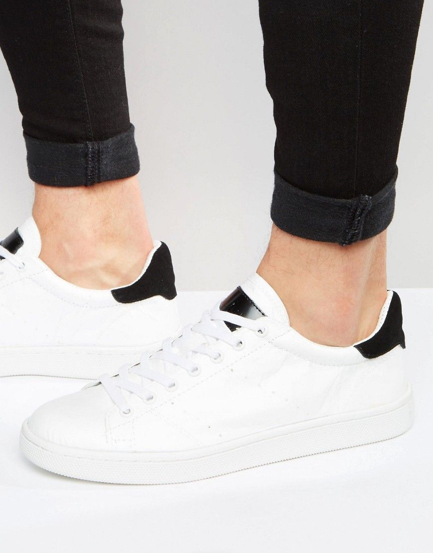 Men Trainers Religion Paper Low Trainers