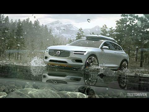 Volvo Concept XC Coupe - YouTube