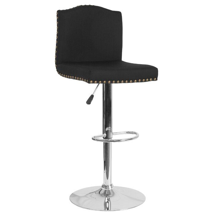 Photo of Itzayana Adjustable Height Swivel Bar Stool