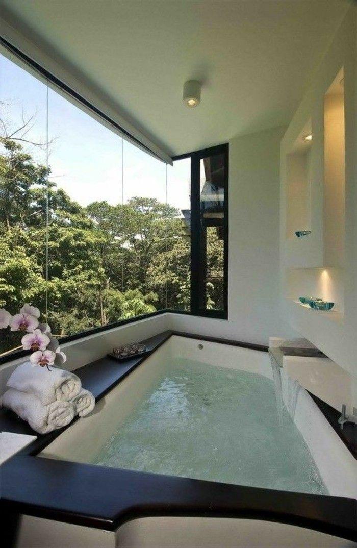 Comment créer une salle de bain contemporaine? 72 photos!