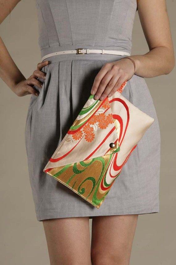 Obi Envelope Clutch