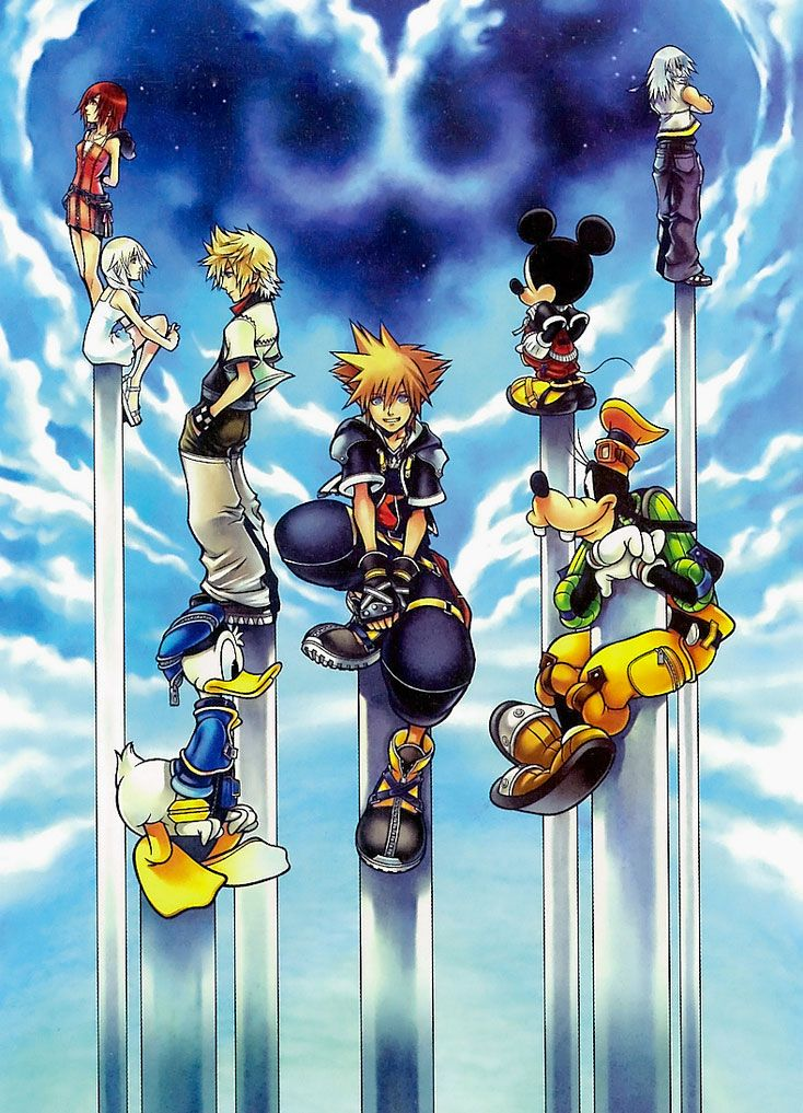 619fc2ca428b Kingdom Hearts II I used to play this game when I was younger | cool ...