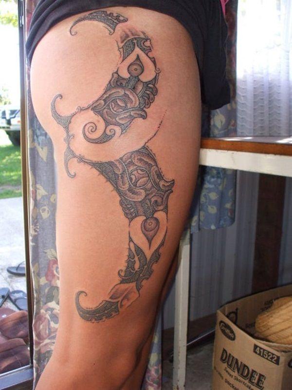 40 Maori Tattoo Vorlagen Und Designs Maori Tattoos Tattoo