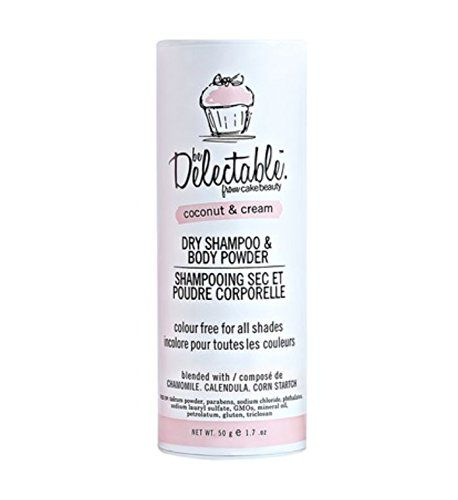 Delectable By Cake Beauty Coconut And Cream Dry Shampoo And Body