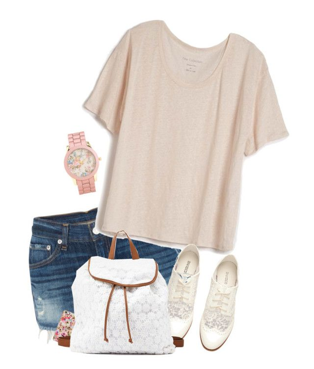 """""""Untitled #340"""" by daaaiu ❤ liked on Polyvore featuring Aéropostale, rag & bone, Fine Collection, Isaac Mizrahi, H&M, Charlotte Russe, women's clothing, women's fashion, women and female"""