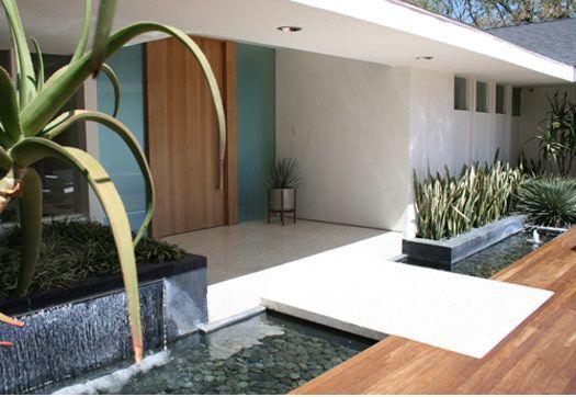 Modern Landscaping Orange Street Studio Modern Front Yard Entrance Design Modern Entrance