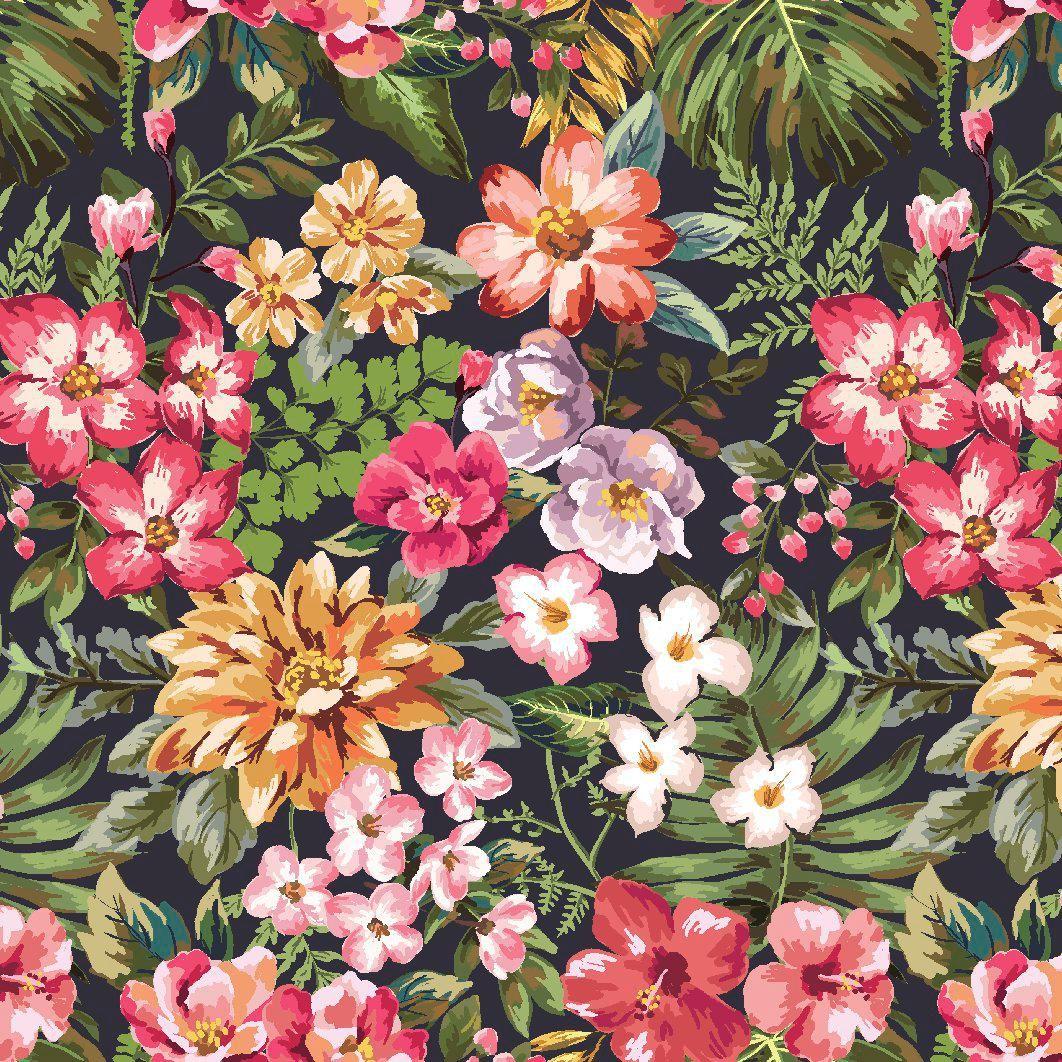 Resultado de imagem para wallpaper estampas de flores