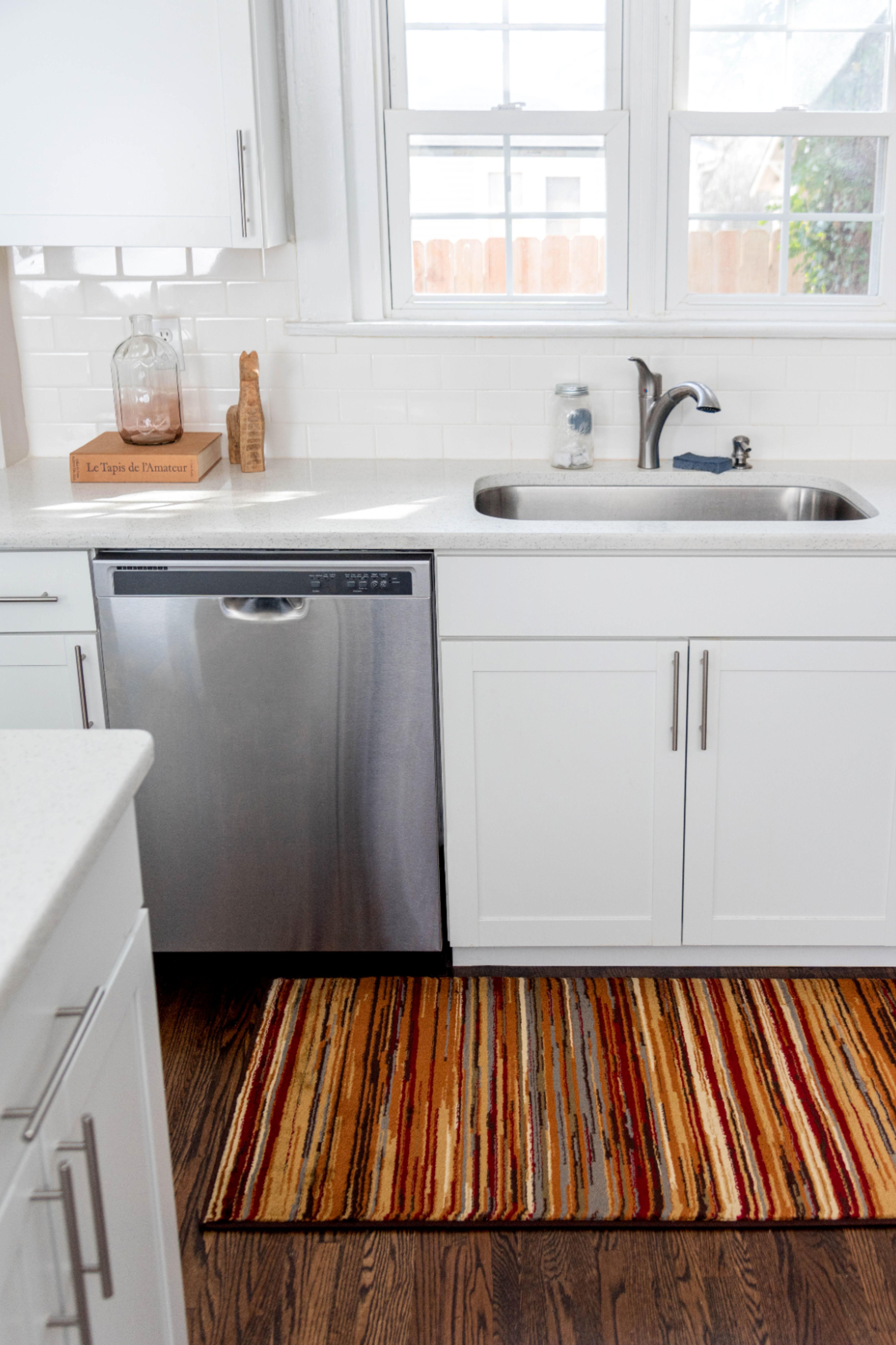 Modern Kitchen Rugs in 5  Modern kitchen rugs, Coffee shop