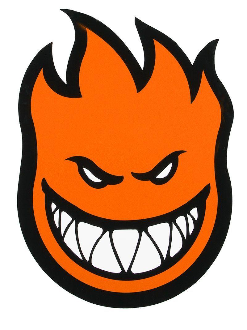 Spitfire Fireball Sticker X