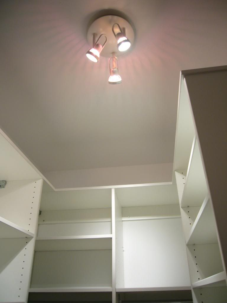 Next To Track Lights Spot Lighting Is Another Fixture I Highly Recommend  For Your Closet.