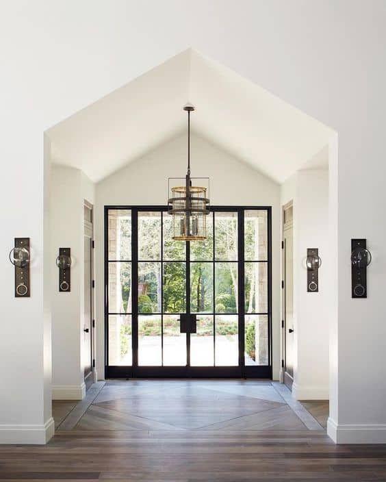22 Stunning Black Front Door Inspirations – thetarnishedjewelblog