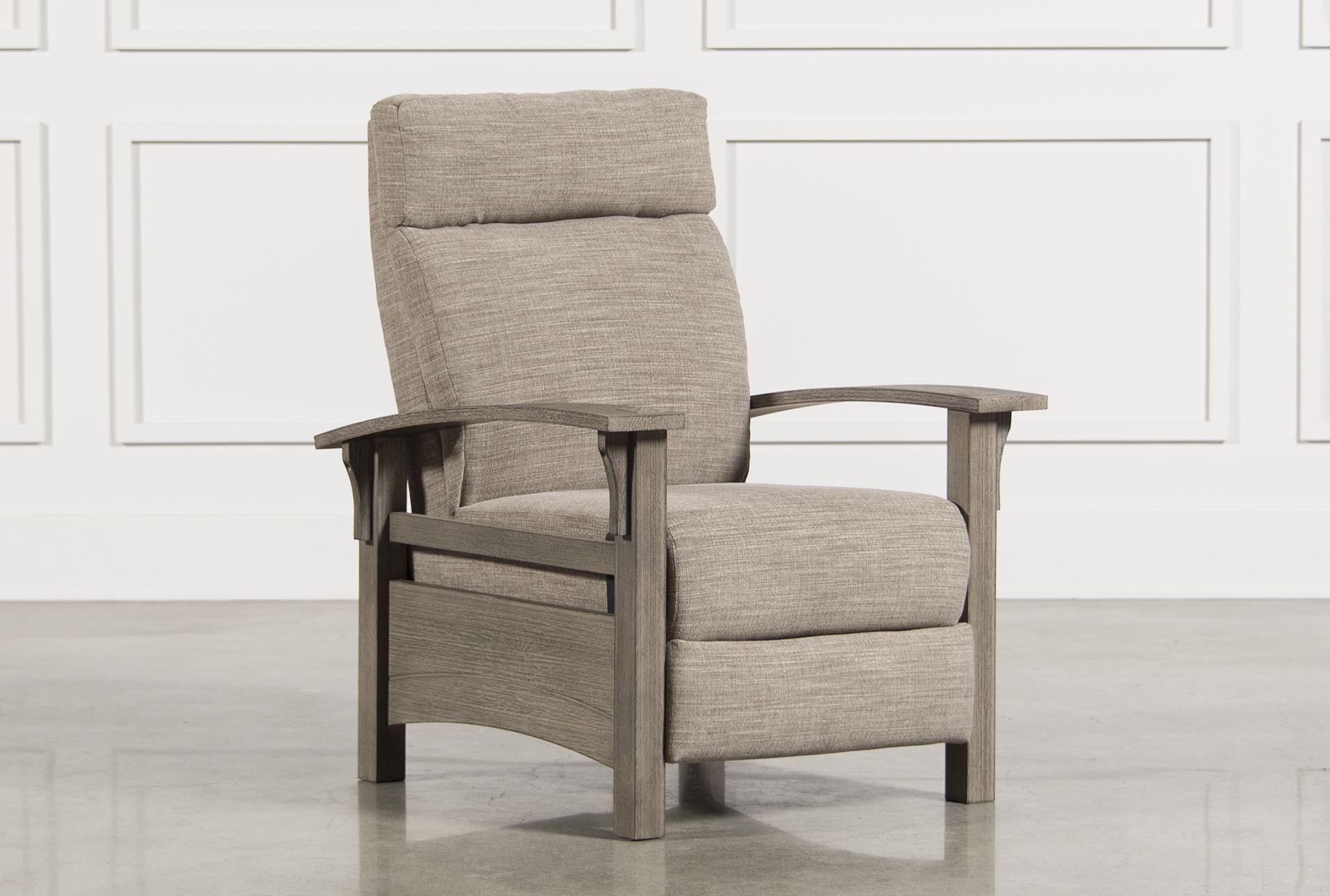 Power High Leg Recliner, Earl, Grey, Chairs | Recliner, Office ...