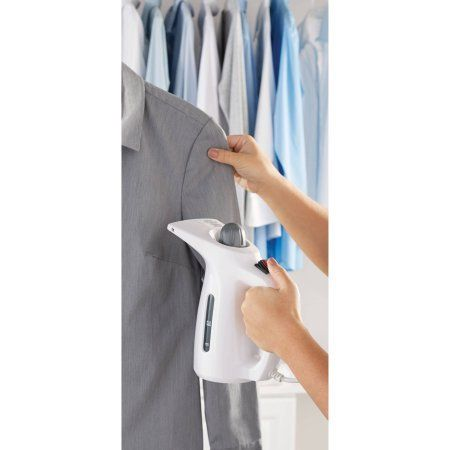 The Mainstays Handheld Garment Steamer Gets Wrinkles Out Of Your Clothes In A Flash
