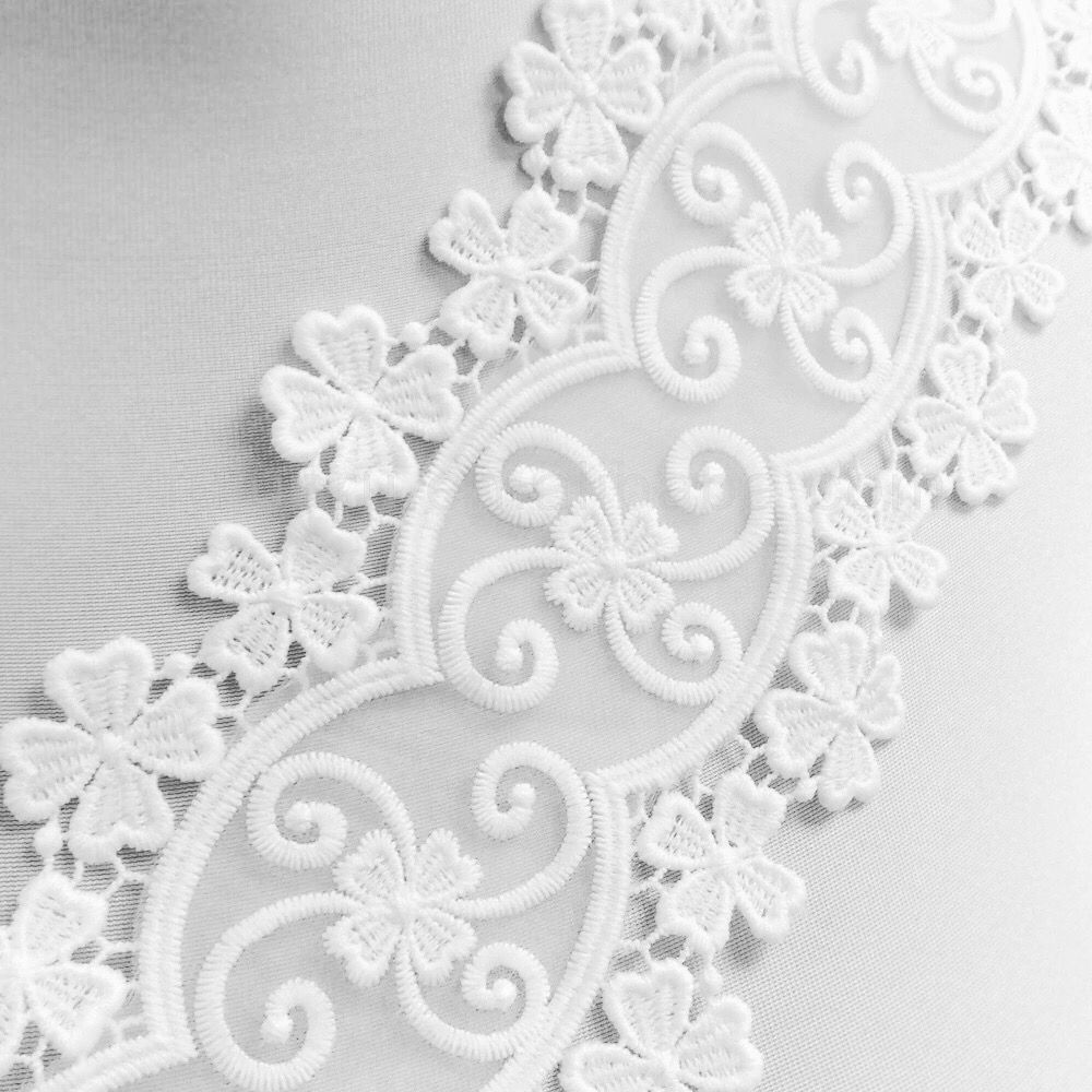 "White Pink Lace Trim Trimming Edging 30 mm 3 cm 1/"" Width Please Choose Length"