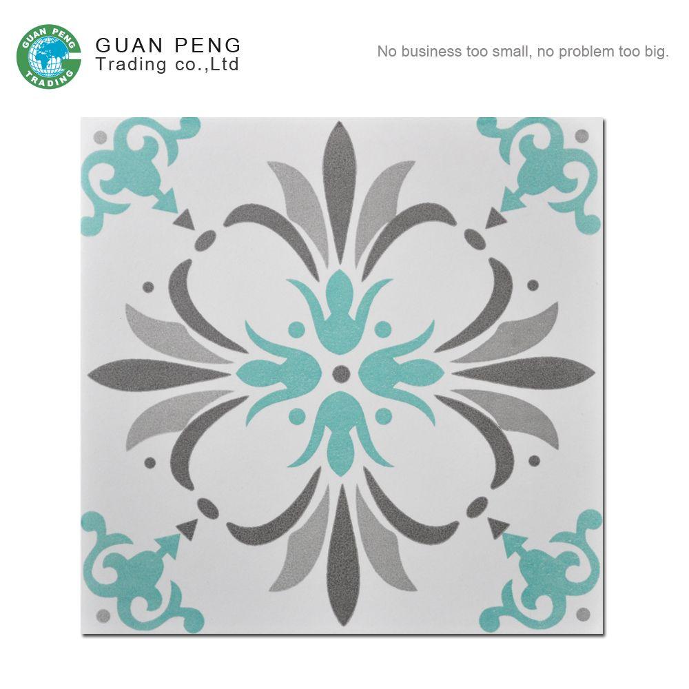 Non Slip Bathroom Ceremic Floor Tiles Moroccan Ceramic Tile