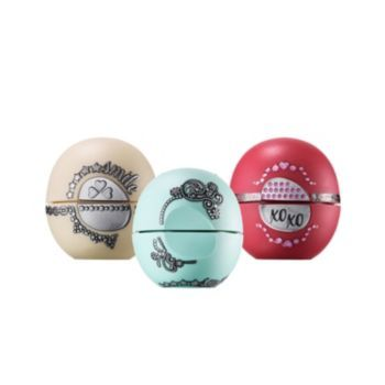 Eos Holiday 3 Pc Lip Balm Gift Set Limited Edition In