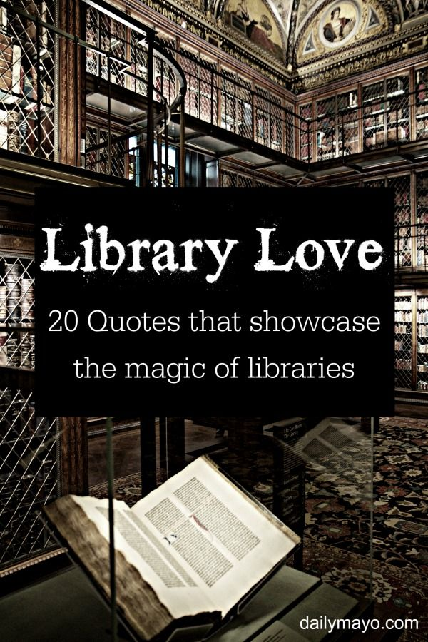 20 Quotes about Libraries Books, Library ideas and Library quotes - library page